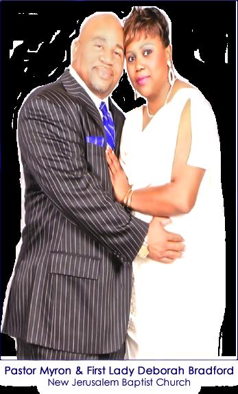 Pastor Myron & First Lady Deborah Bradford of New Jerusalem Baptist Church in McKinney Texas