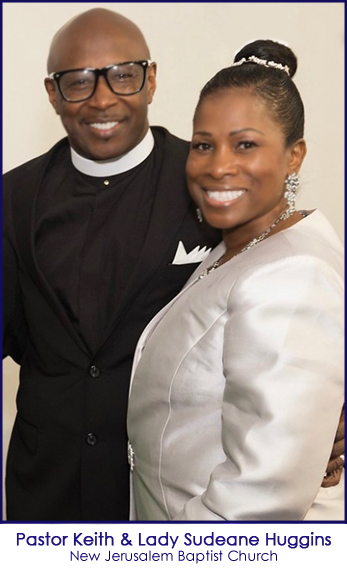 Pastor Myron & First Lady Deborah Bradford of New Jerusalem Baptist Church in McKinney Texas