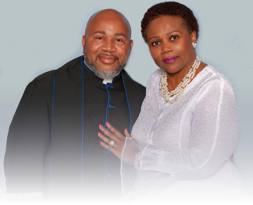 Senior Pastor Myron Bradford & First Lady Pastor Deborah Bradford of New Jerusalem Baptist Church